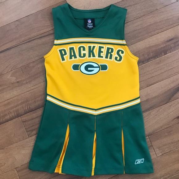 New Reebok Dresses | Green Bay Packers Youth Cheerleader Dress | Poshmark